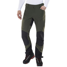 Haglöfs Rugged II Mountain - Pantalon long Homme - noir/olive